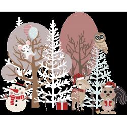 Le Petit Monde Forêt Enchantée